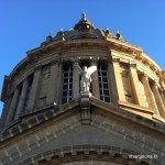 cúpula en lo alto del Palacio Nacional de Montjuïc