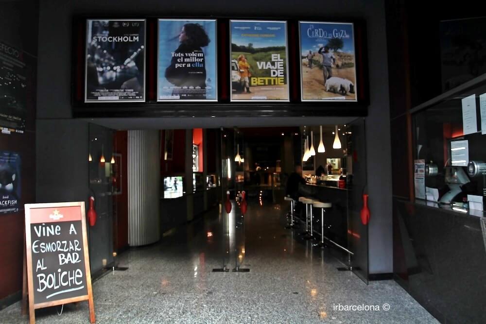 entrada Cinemes Boliche