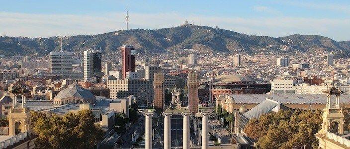 Las terrazas del MNAC, el nuevo mirador de Barcelona