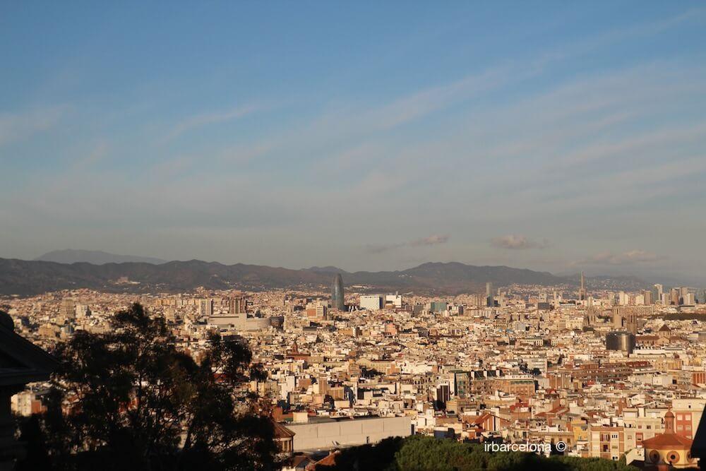 vistes de la Torre Agbar
