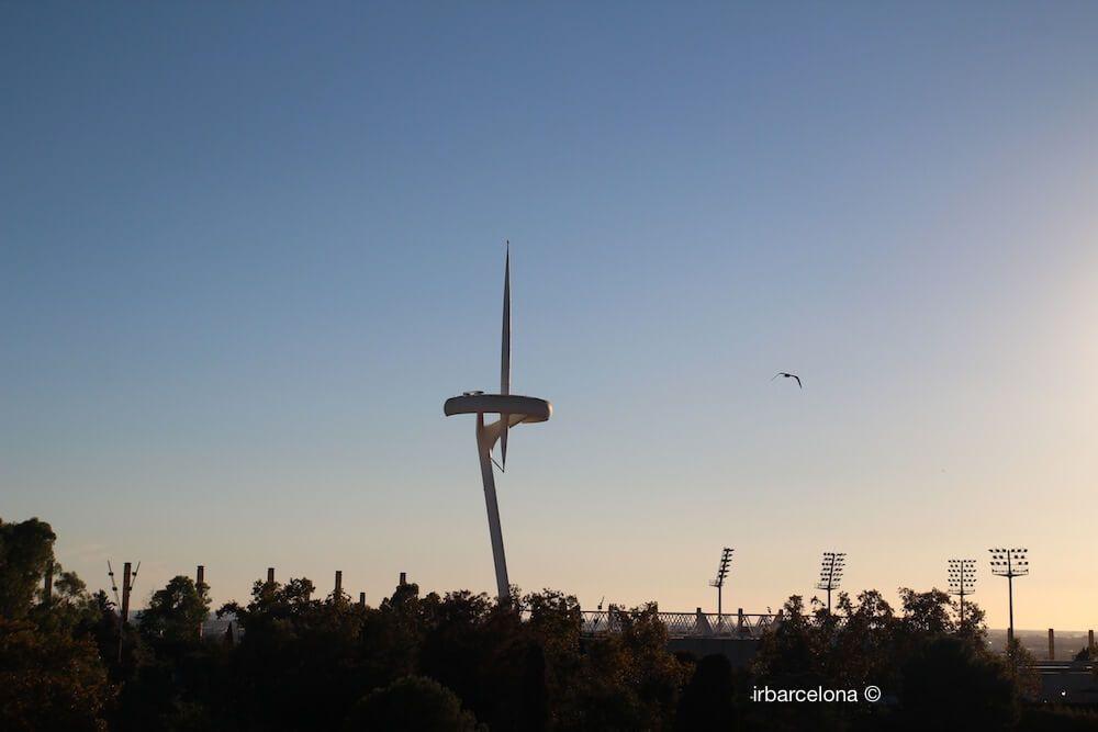 Torre de Telecomunicacions a l'Anella Olímpica