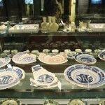 vajillas de la Barcelona del 1700