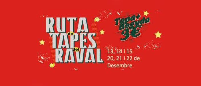4a Ruta de Tapas del Raval, tapa + bebida por 3€