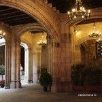patio Ayuntamiento Barcelona