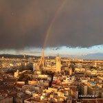 arco iris sobre la Catedral