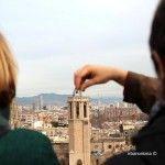 pulsando el campanario de la Catedral