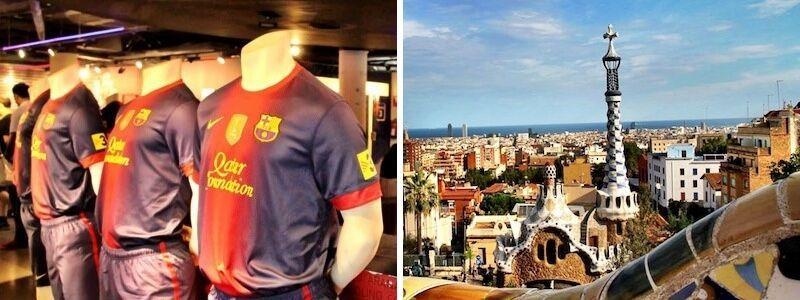 Camp Nou y Park Güell