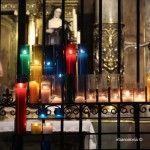 velas capilla Santa Maria del Pi