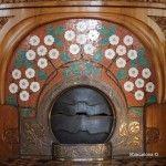 chimenea Casa Lleó i Morera