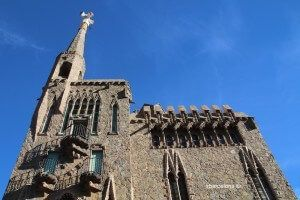 fachada Torre Bellesguard