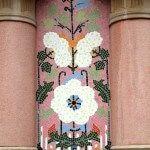 mosaico cerámica fachada