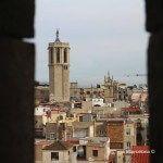 vistas Catedral de Barcelona