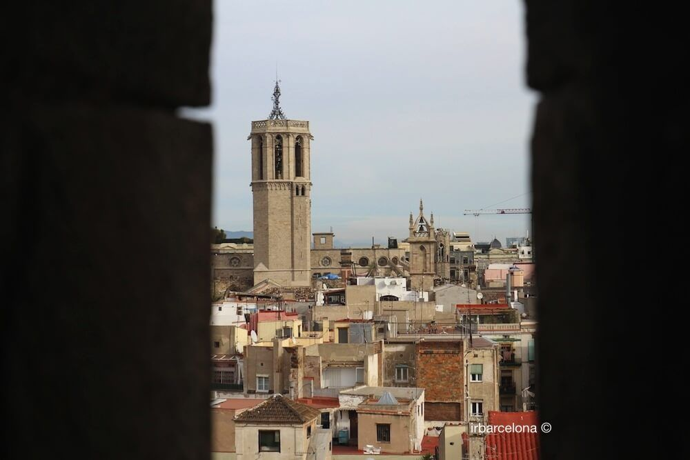 vista Catedral de Barcelona