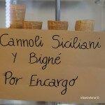 Cannoli Siciliani y Bigné por encargo