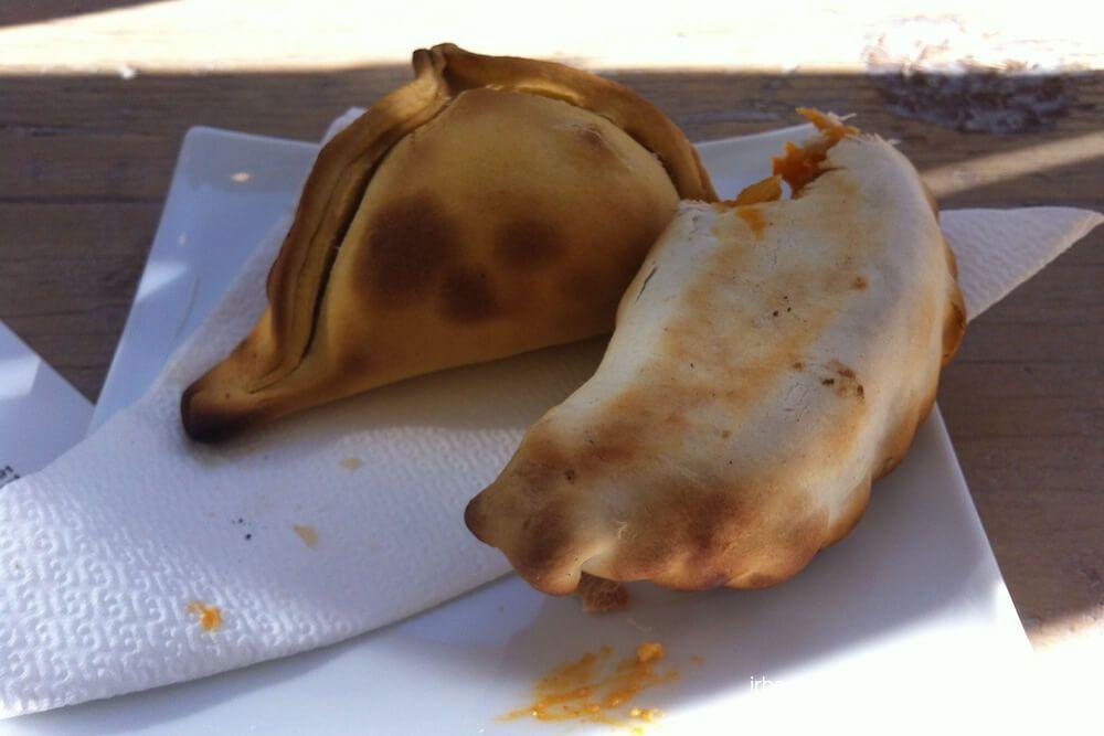 empanadas recién hechas