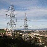 tendido eléctrico Torre Baró