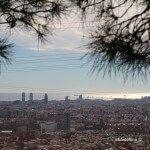 vistas de Barcelona desde Torre Baró