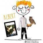 Albert y su águila