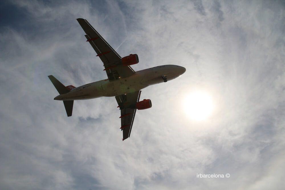 avión mirador El Prat