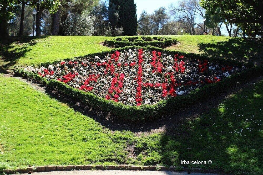 floral emblem of Barcelona