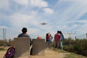 gente mirador de El Prat