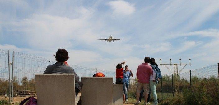 mirador Aeropuerto aviones El Prat