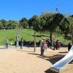zona infantil Jardines Joan Brossa