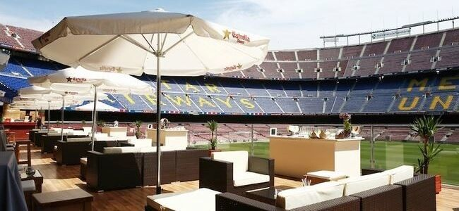 Camp Nou Lounge, la terraza chill out del F.C. Barcelona