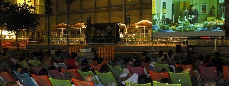 cinema jardines Sant Joan de Déu