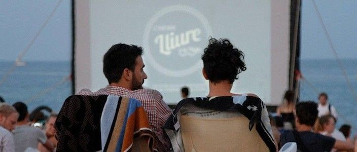 Cinema Lliure a la Platja, la muestra de cine independiente en la playa de Barcelona