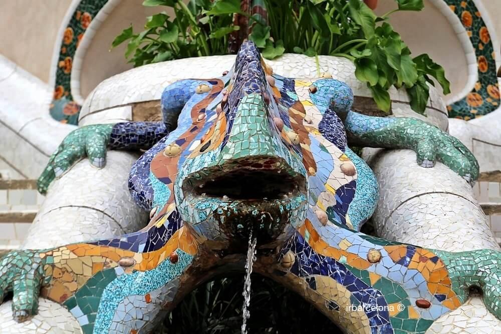 Salamandre Parc Güell