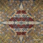 cerámica techo Sant Pau