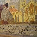 decoración exterior Sant Pau