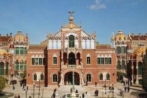 edificio operaciones Sant Pau