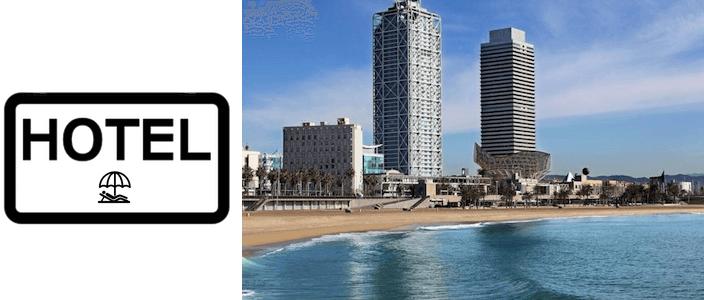 hoteles y apartamentos playa Barcelona
