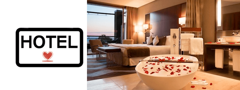 Hotel romántico Barcelona