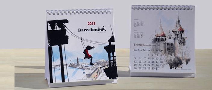 Sorteo del Nuevo Calendario de Barcelonink 2015