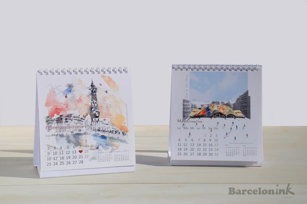 calendari Barcelonink 2015
