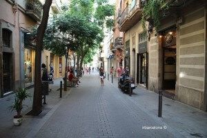 Carrer Verdi (via)