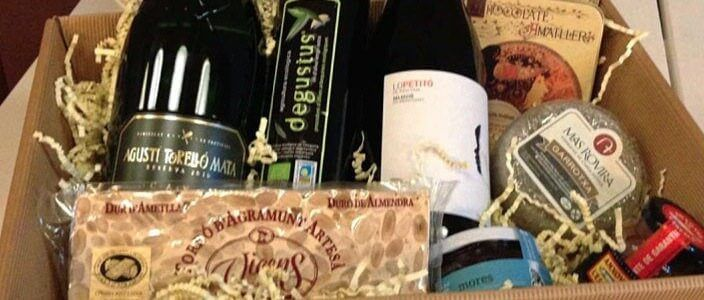 Sorteo de una cesta de Navidad de productos gourmet de Catalunya