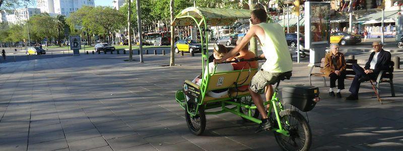 triciclo Passeig Marítim