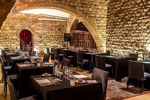 cena medieval catalana Palau Requesens