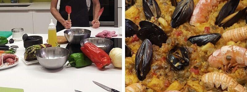 Cursos de cocina en Barcelona
