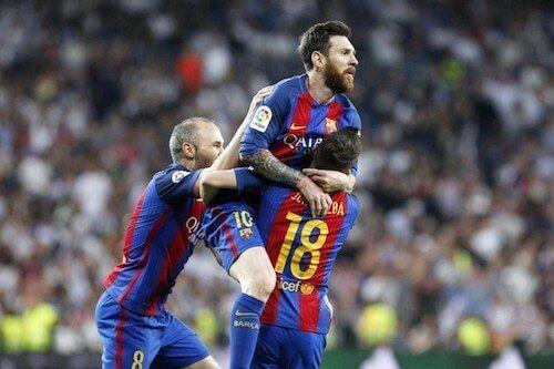 Partido del FC Barcelona
