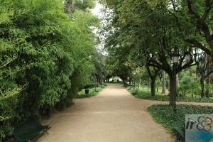 jardines Pedralbes