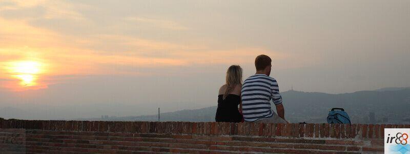 puesta de sol Montjuïc