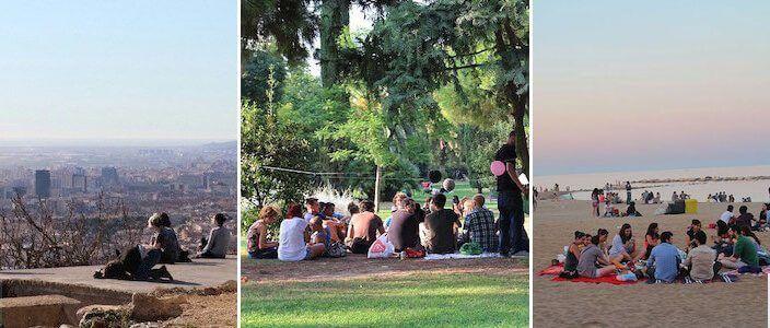 Pícnic en Barcelona