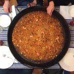 arroz con calabaza y sepia Paellapartybcn
