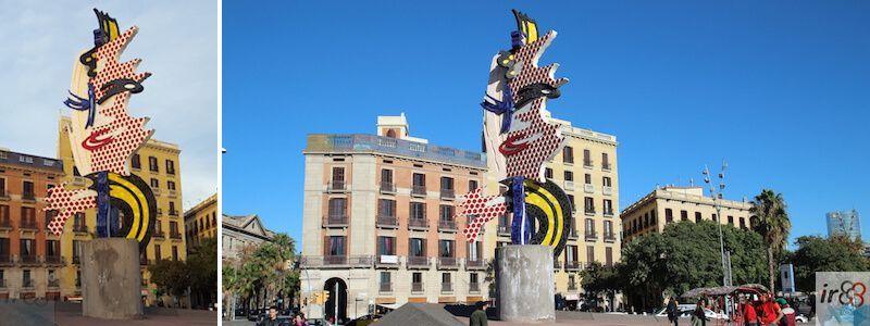 Cara de Barcelona de Roy Lichtenstein