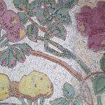 mosaico floral pavimento Casa Manuel Felip